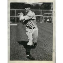 1929 Press Photo Clarence 'Footsie' Blair, utility infielder, Chicago Cubs