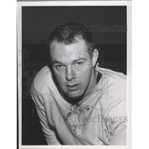 1963 Press Photo Canadian hockey player, Gerry Brisson - sps01355