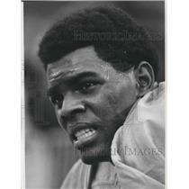 1969 Press Photo Football player, Marlin Briscoe - sps01373