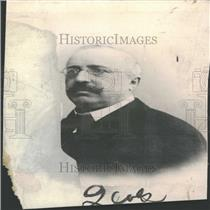 1918 Press Photo Herr Krupp Portrait Germany - RRY26933