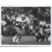 1984 Press Photo Dallas Cowboys football player, Tony Dorsett - sps02297