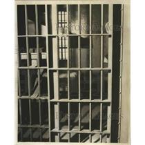 1941 Press Photo Jefferson County Jail cell in Birmingham, Alabama - abnz01134
