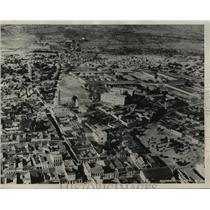 1932 Press Photo Aerial View of the City of Santiago, Cuba - mjx26946