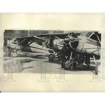 1930 Press Photo NY 3 monoplanes for endurance record attempt - sbx02875