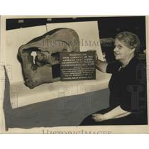 1939 Press Photo George Washington Artifacts at State Museum in Montgomery, Ala.