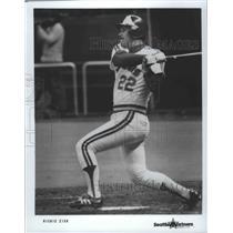Press Photo Seattle Mariners baseball player, Richie Zisk - sps03502