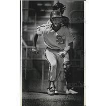 1985 Press Photo San Diego Padres baseball player, Joey Cora - sps03449