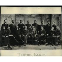 1893 Press Photo Members of Spokane City Commission, Spokane, WA - spx17388