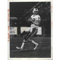 1981 Press Photo Joe Ferguson, Buffalo Bills football quarterback - sps02875
