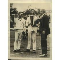 1924 Press Photo Howard and Robert Kinsey win National Doubles championship