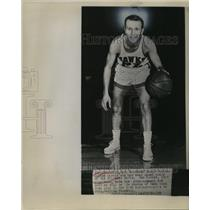1957 Press Photo Sister Martin named coach of St Louis Hawks basketball