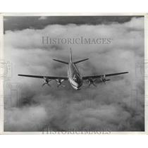 1955 Press Photo Frans Cessna Plane - nef65023