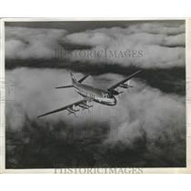 1955 Press Photo Frans-Cessna Plane - nef65024