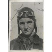 1938 Press Photo Austin 'Bo' Merrifield Co-Pilot of Mainliner Which Plunged