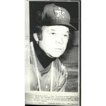 1974 Press Photo Boston Bruins hockey team's new coach, Don Cherry - sps03465
