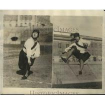 1925 Press Photo Helen Moy at Alliance Convention Athletic Games, Syracuse NY