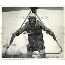 1980 Press Photo Glider Jade Halcomb - spa52496