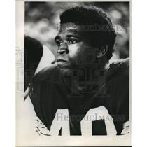 1970 Press Photo Bay Packers Football Player Ken Ellis - mja58273