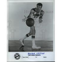 1970 Press Photo Henry Finkel, Boston Celtics Basketball Player - mja58703