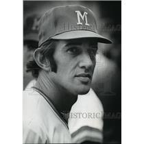 1972 Press Photo Baseball-Milwaukee Brewers Player Ray Newman - mja63328