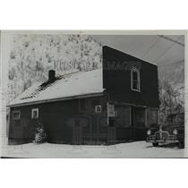 1945 Press Photo Weber State Bank, oldest banking institution, Wardner Idaho