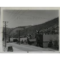 1947 Press Photo Wardner Idaho original city of south fork area - spa50709