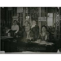 1916 Press Photo Women Club North South Chairman Period - RRU26733