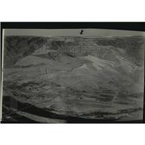 1931 Press Photo Lewiston Hill aerial view - spa51744
