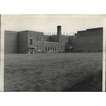 1946 Press Photo Surfaced yard at St Maries' grade school in Idaho - spa55069