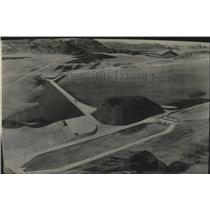 1948 Press Photo Aerial View of the North Dam - spa44025