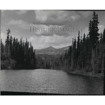 1954 Press Photo View of Priest Lake, Idaho - spa56591