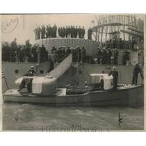 1919 Press Photo Section Darnels Leaving the Oregon - nef67970
