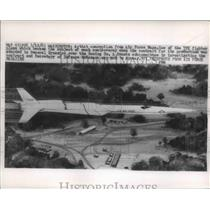 1963 Press Photo Art Conception of TFI Fighter Plane Which Became Controversy