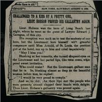 1933 Press Photo Lieut Hobson Lawyer Edward Gavegan - RRU33711