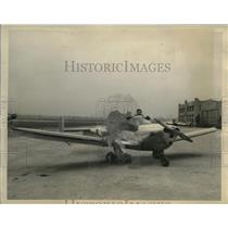 1948 Press Photo Pilot Joe Smith in a Ercoupe plane - neo20794