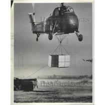 1959 Press Photo Helicopter - nef68607