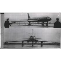 1956 Press Photo Russian Airplanes for cargo and transport - spa74166