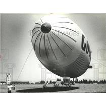 1979 Press Photo Goodyear Aviation Blimp - spa72429