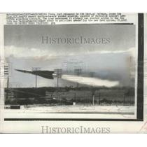 1957 Press Photo Hawk U.S Army newest surface to Air Guided missile - nef68921