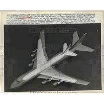 1966 Press Photo Pan American World Airways purchased 25 huge Boeing 747