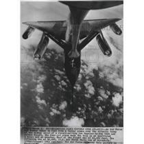 1962 Press Photo Airplane, Air Force B58 bomber - spa74391