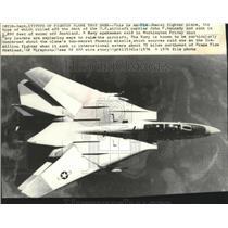 1976 Press Photo F14 TomCat Fighter Plane - spa73791