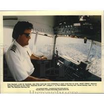 1994 Press Photo Goodyear pilot Drew Marshall - spa66713