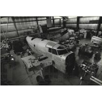 1994 Press Photo A Condfederate Air Force Hangar at Crites Field - mja72523