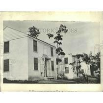 1937 Press Photo Houses Built for Dam Workers in Norris, Tennessee - abnz01441