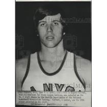 1976 Press Photo Bayard Forrest-Seattle Supersonics 1st Round 19th Draft Pick