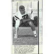 1968 Press Photo Ron Yary-First Pick in the National and American Football Draft