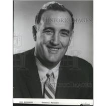 1970 Press Photo Bob Houbregs-Seattle Supersonics' Baketball General Manager