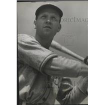 1942 Press Photo Spokane Hawks baseball player, Bobby Hornig - sps04138
