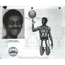 1977 Press Photo Harlem Globetrotters basketball player, Marques Haynes